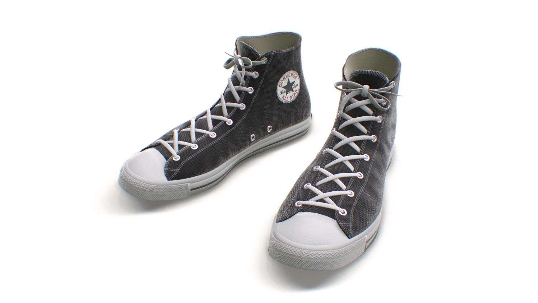 Classic High Top Converse All Stars 17 Colors Modèle 3D in Vêtements 3DExport