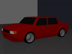 Dialux Car Model