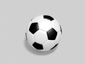 53767bb0ad Realistic Soccer Ball With Realistic Depth 3D Model. FeatureCorner. Sports  Equipment. Realistic Soccer ...