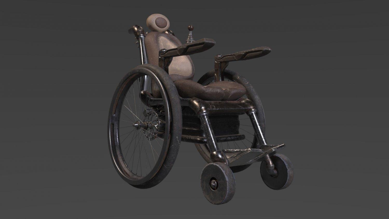 Wheelchair 3d Model In Other 3dexport