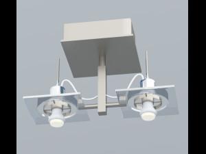 Plafoniere De Metal : Plafoniere modelli 3d scaricato 3dexport