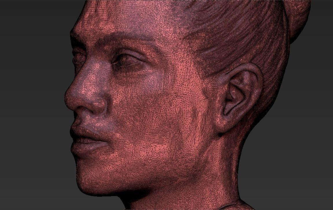 Jennifer Lopez bust 3D printing ready stl obj 3D Model in Sculpture 3DExport