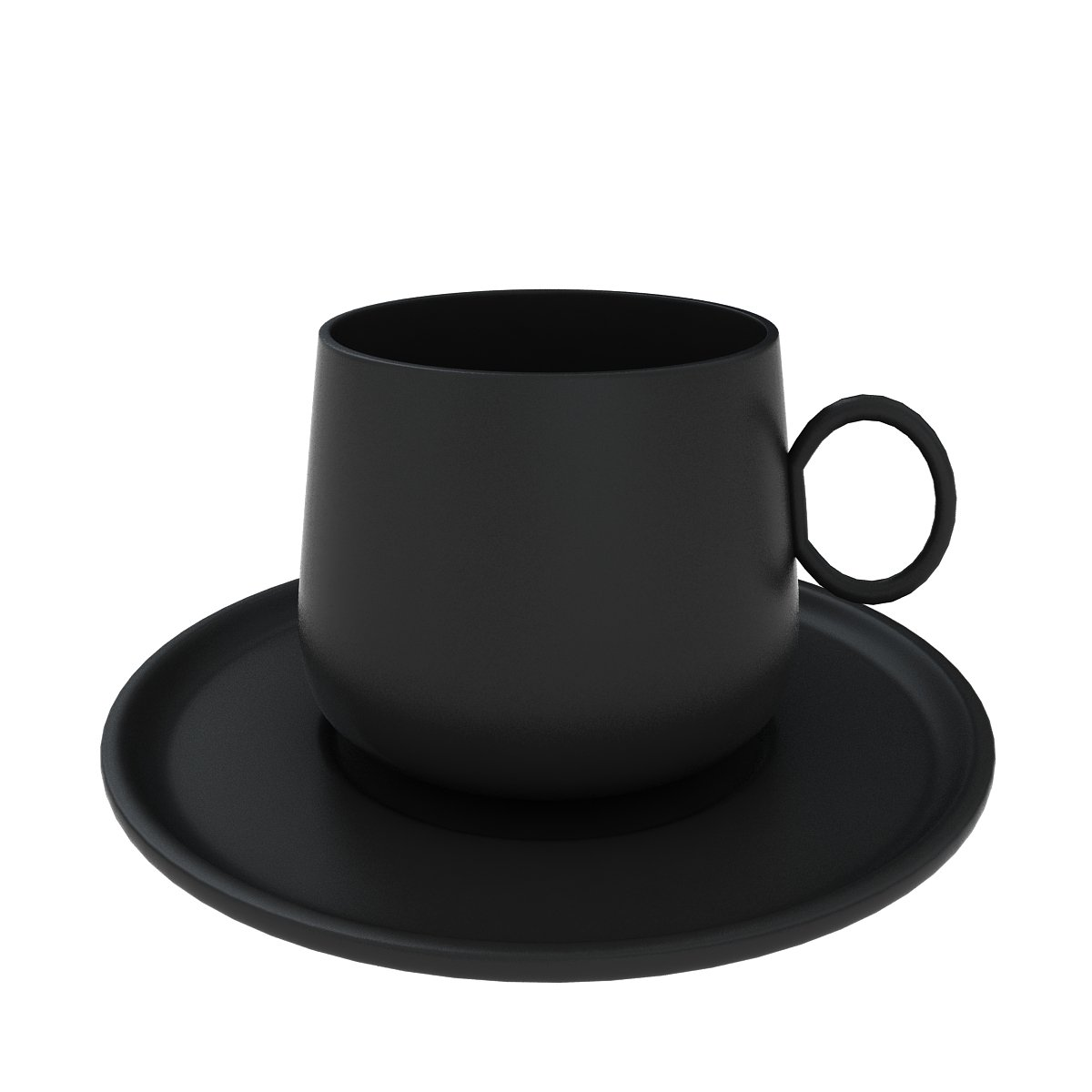 Coffee Cup 3D Model in Kitchen 3DExport