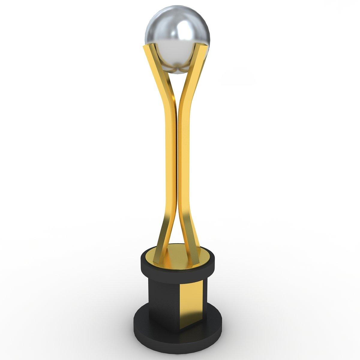 Trophy 3D Model in Bomber 3DExport