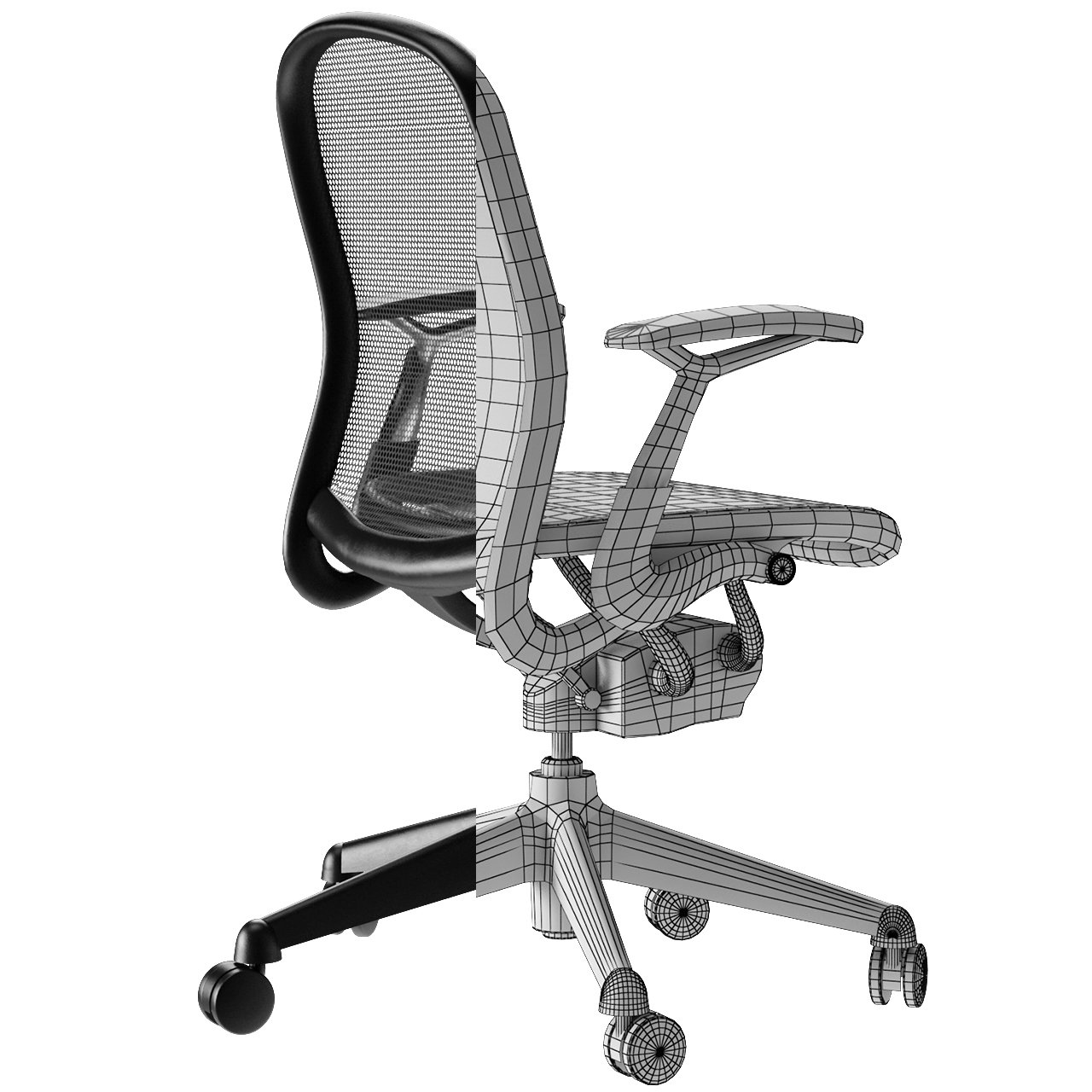 Knoll Chadwick Office Chair 42D Model in Chair 42DExport
