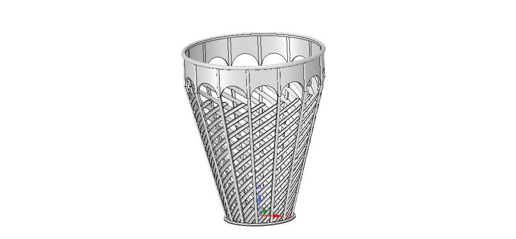 gros remise sélectionner pour dernier matériaux de haute qualité Basket vase wallet for paper or flower v07 for 3d-print or cnc 3D Model in  Accessories 3DExport