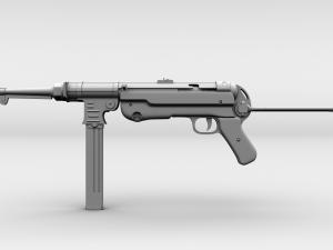 Submachine Guns 3D Models - Download Submachine Guns 3D
