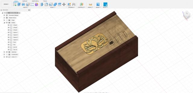 Download free 3D printer model Coordinate-motion cube