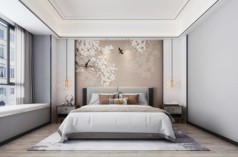 New Chinese Bedroom 3d Model In Bedroom 3dexport