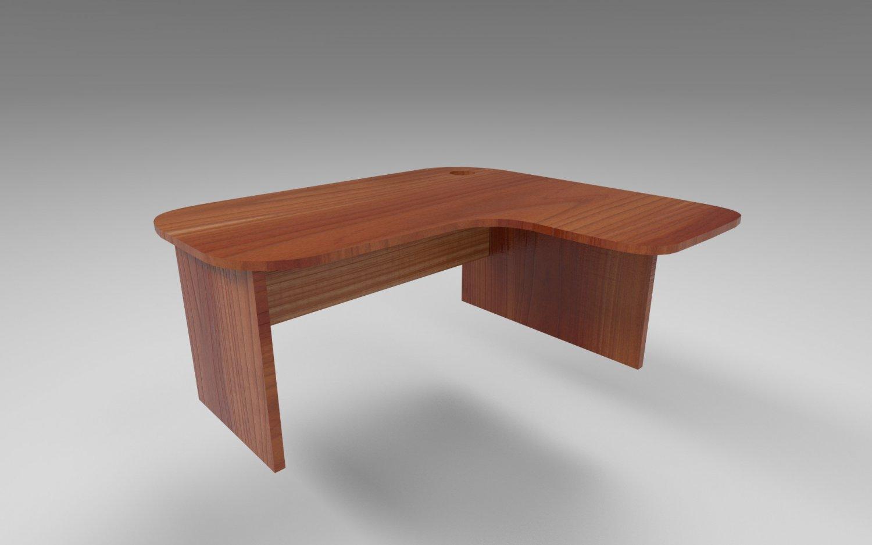 - Wooden Desk 8k 3D-Modell In Büro 3DExport