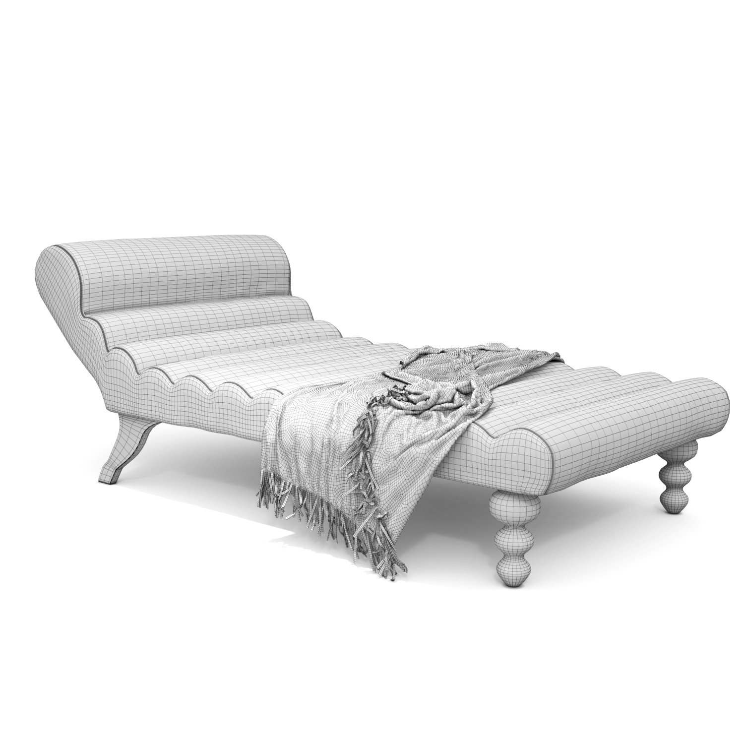 Modern Design Lazy Chaise Lounge Indoor 3d Model In Sofa 3dexport