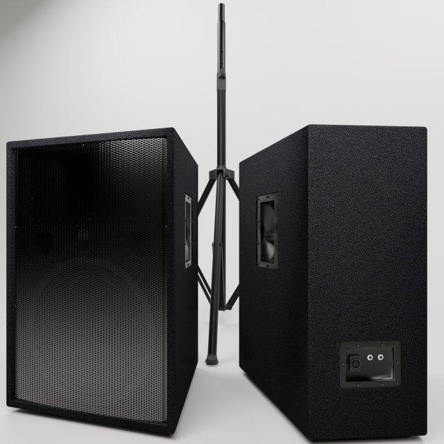 Yamaha R115 acoustics 3D Model in Other 3DExport